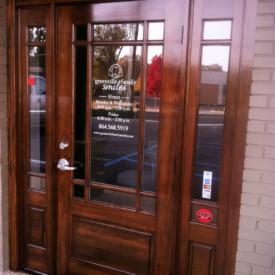 Greenville Family Smiles Dentistry - Front Door Restoration