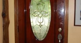 Varnished Door