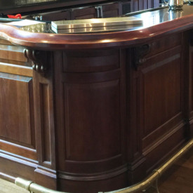 Mahogany Bar, Poinsett Club, Greenville, SC; Sub-contractor