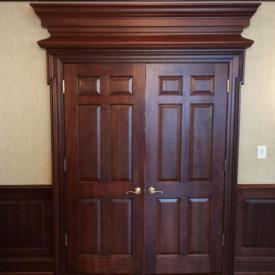 Mahogany Door, Poinsett Club, Greenville, SC