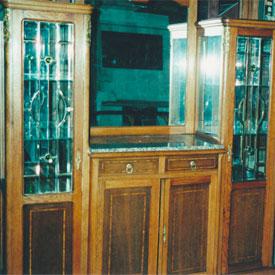 Cabinet, Complete Restoration due to fire damage, Lacquer, Miami, FL